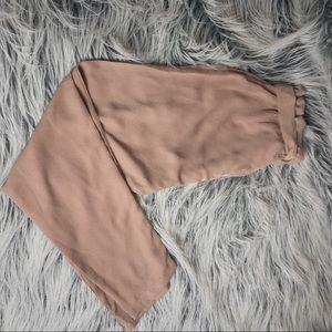 Blush toned pants/joggers